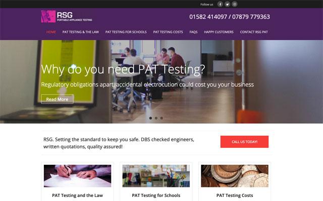 RSG Pat Testing